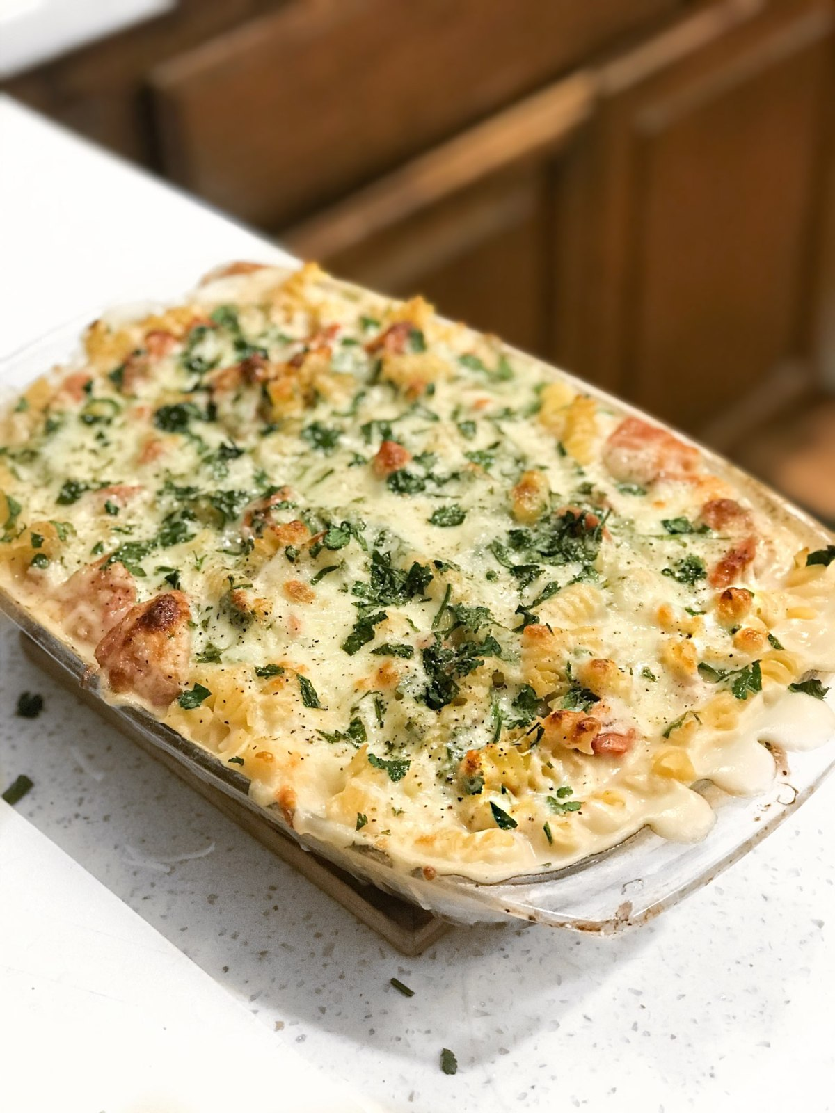 Alfredo Pasta Bake