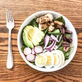 mediteranian inspired salad