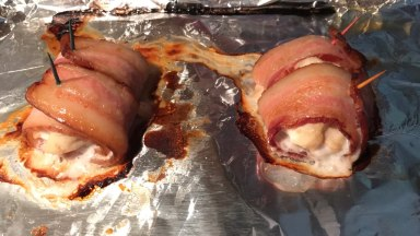 bacon wrapped chicken 1