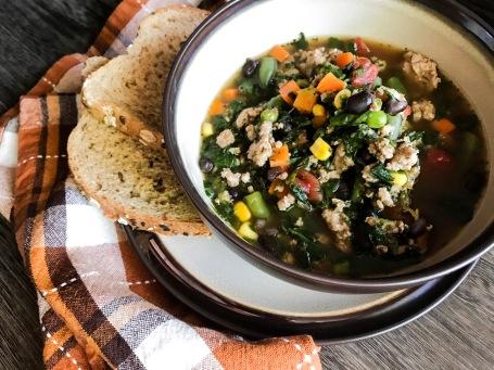 turkey veggie soup 2