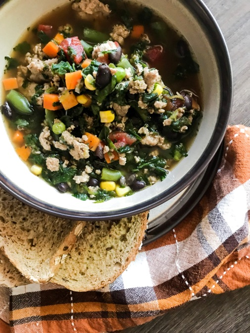 turkey veggie soup 3
