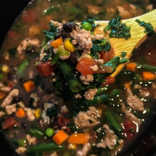 turkey veggie soup 5